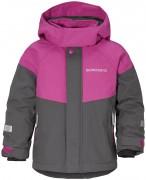 куртка детская непромокаемая lun 502649(316) розовая с серым