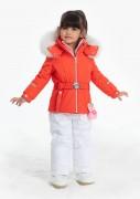 POIVRE BLANC Куртка мембранная для девочки 274058(clementine orange)