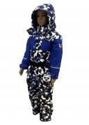 POIVRE BLANC Комбинезон  для мальчика 274086(blue camou/true blue)