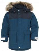 Куртка с меховой спинкой kure parka 502679 (343) сине-зеленая