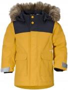 куртка зимняя удлиненная  kure parka 502679 (321) пшеничный желт