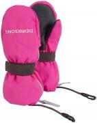 Варежки детские 502694 BIggles Zip (322) неоновый розовый