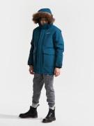 Didriksons Куртка для юноши Madi 502623(343) синий ураган