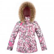 Куртка пуховая для девушки 274033 (pink camou)