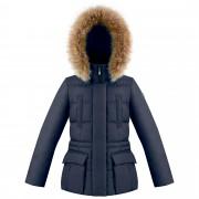 Куртка пуховая для девушки 274033(gothic blue3)