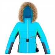 Куртка подростковая для девочки 274015(aqua blue/multi)