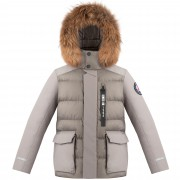 Куртка пуховая для юноши 274050 (soba brown)