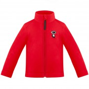 Толстовка флисовая для мальчика 279665(scarlet red 5)