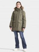 Куртка для девушки Jamila 503433(384) зеленый туман