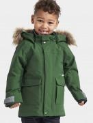 куртка зимняя удлиненная  kure parka 503380 423) зеленый лист