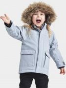 куртка зимняя удлиненная  kure parka 503380(385) голубое облако