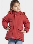 Didriksons куртка зимняя с мехом Lizzo 503848(459) розово-оранжевый