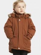 куртка зимняя с мехом Lizzo 503848 (460) медно-коричневый