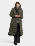 пальто женское Stella 503909 (300) темно-зеленое