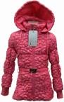 SM14-27 куртка  жатая с поясом