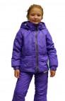 Poivre Blanc куртка без пояса  мембранная для девочки 237991(grape) фиолетова